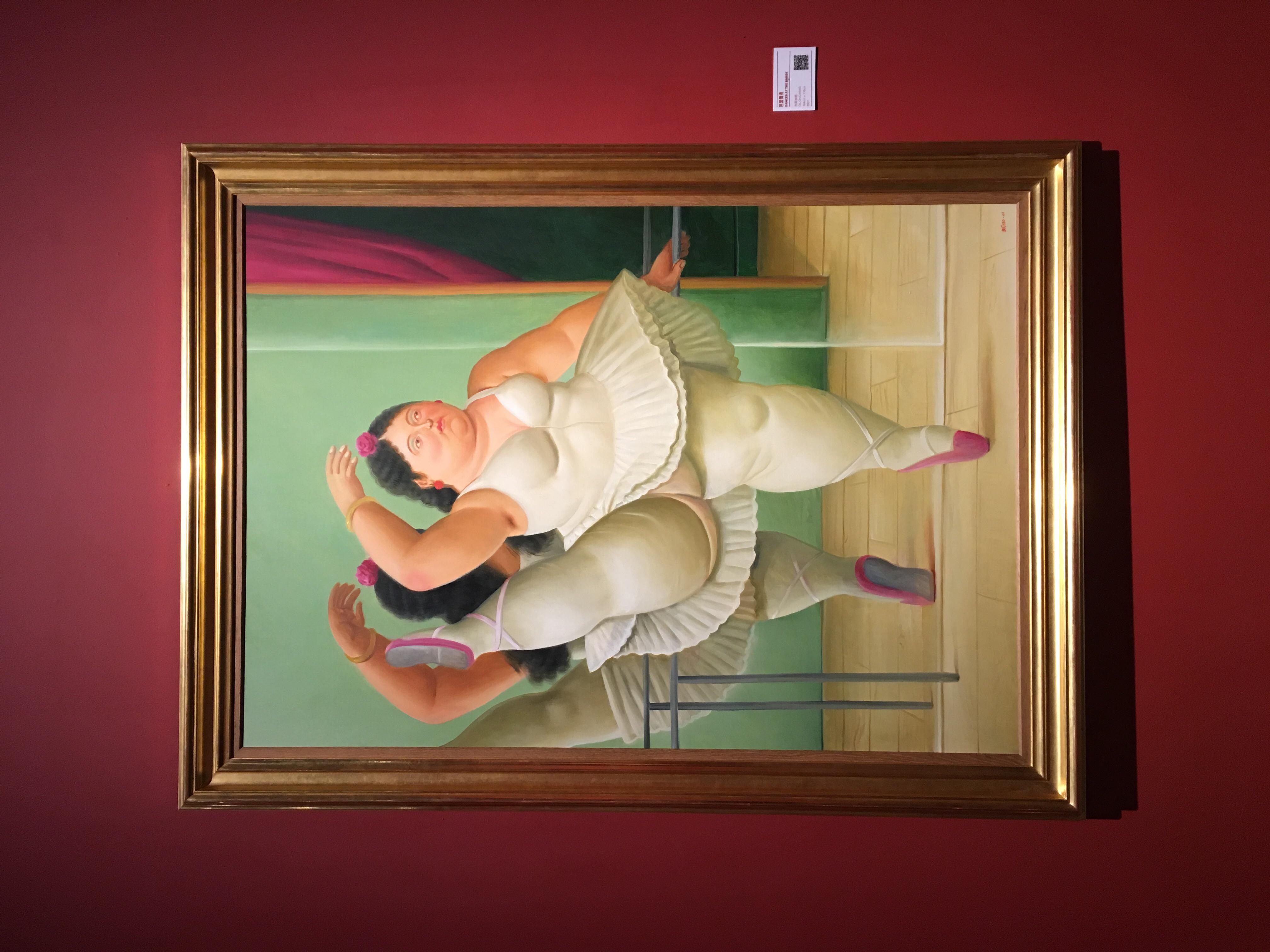 """这些看似笔触简单心思单纯的可爱的""""胖子"""",实际上蕴含了画家对于生活"""
